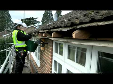 A Typical Installation By The Fascia Division Youtube