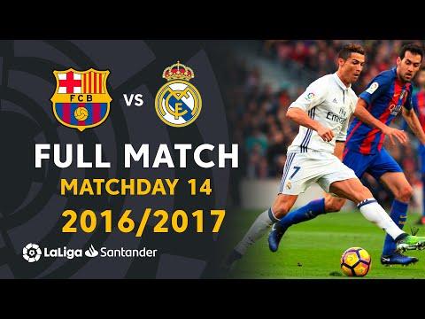 Real Madrid vs FC Barcelona (1-1) J14 2016/2017 - FULL MATCH