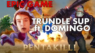 video Epic game : Trundle support en duo Q avec DominGo