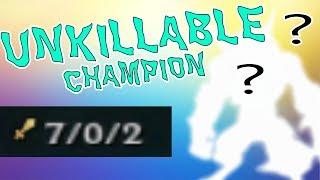 UNKILLABLE CHAMPION (50% lifesteal) - League of Legends