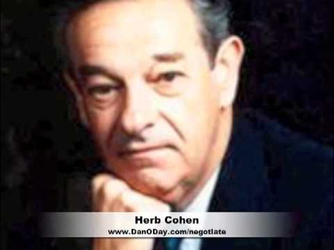 THE KEY TO SUCCESSFUL NEGOTIATING - HERB COHEN - HOW ...