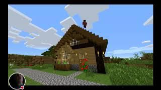 Minecraft vs real life reaction
