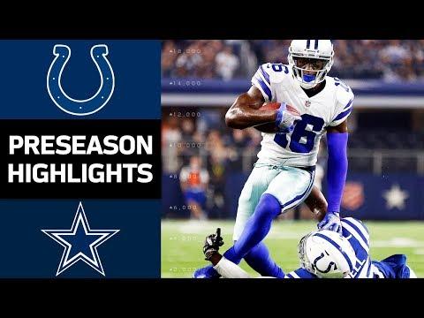 Indianapolis Colts vs Dallas Cowboys