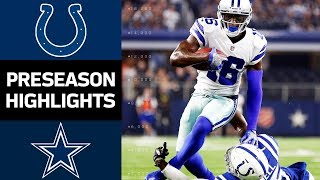Colts vs. Cowboys | NFL Preseason Week 2 Game Highlights