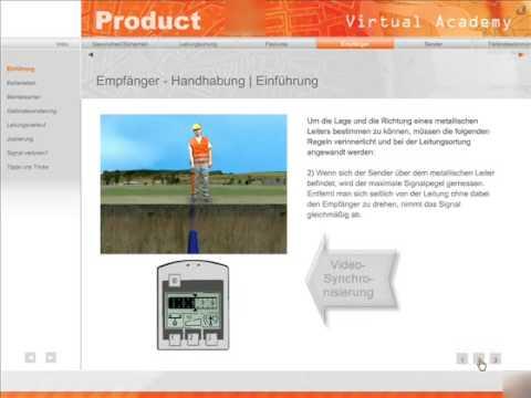 Produktschulungsanwendung Virtual Academy