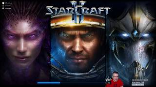 Starcraft II - 3-Player Wings of Liberty Co-Op Campaign Full Twitch Stream Ep.2