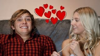 Valentines Day Girlfriend Tag with Gus and Kyla