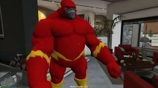 GTA 5 - Chú tinh tinh của Flashman làm anh hùng   GHTG