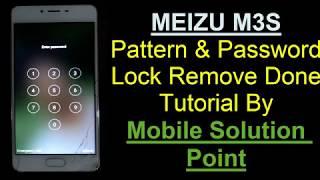 Meizu Userlock Remover Tool V1 0 Frp pattern pin password