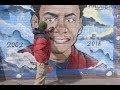 Mural highlights Bronx teen's death from gang violence