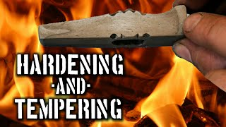 Hardening and Tempering a Hammer Made of Wrought Iron