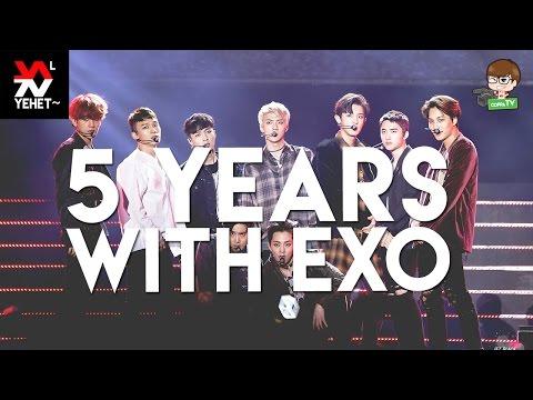 #5YearsWithEXO | EXO Daesangs Compilation