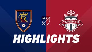 Real Salt Lake vs. Toronto FC | HIGHLIGHTS - May 18, 2019