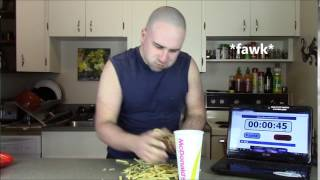 Fastest Time To Eat A Large Big Mac Meal (WORLD RECORD ATTEMPT) | TheBear