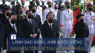 Lãnh đạo Đảng, Nhà nước đến viếng Nguyên Tổng Bí thư Lê Khả Phiêu | VTC1