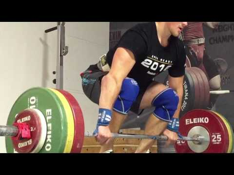 Snatch (102kg) and Clean (134kg) Ladder: GoPro J2FIT Weightlifting