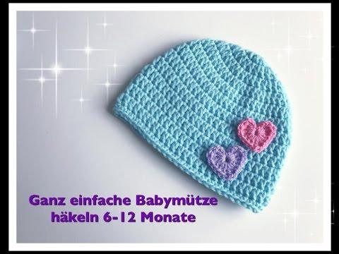 Sehr Einfach Baby Mütze Häkeln Für Anfänger Videomovilescom