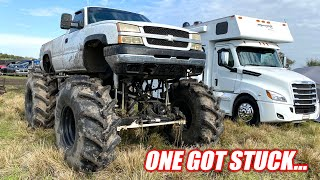 Took the Mud Truck Out To an INSANE Mud Hole!! Freedom Force 1 Gets Stuck Immediately...
