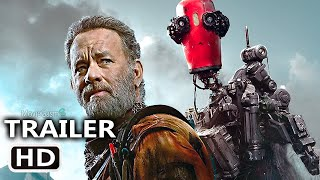 FINCH Trailer (2022) Apocalyptic Tom Hanks Cast Away Type Movie