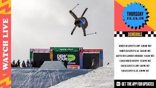 Day 1: Dew Tour Women's Ski Finals, Snowboard Adaptive Finals + Ski Team Challenge Finals LIVE
