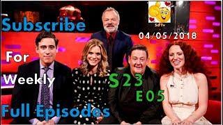 Full Graham Norton Show S23E05 Stephen Mangan, Johnny Vegas, Emilia Fox