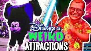 Top 5 Disney's Weirdest Attractions