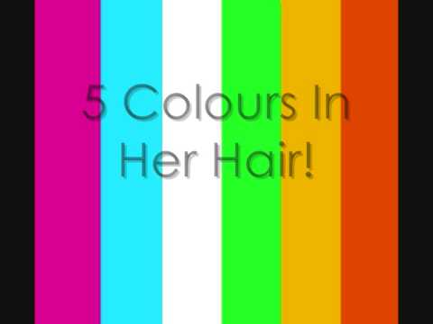 5 Colours In Her Hair Lyrics
