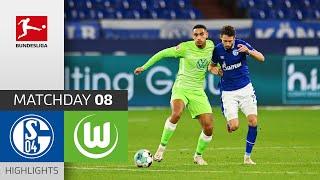 FC Schalke 04 - VfL Wolfsburg   0-2   Highlights   Matchday 8 – Bundesliga 2020/21
