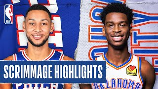 76ERS at THUNDER | SCRIMMAGE HIGHLIGHTS | July 26, 2020