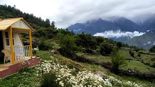 Beautiful scenic view of Auli