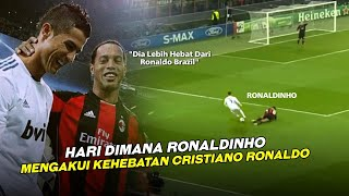 BIKIN MALU MAESTRO DILAPANGAN 😱 Inilah Hari Dimana Ronaldo Sukses Hajar Ronaldinho