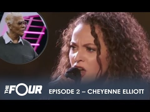 Chyenne Elliott: Came To BATTLE With Grandma LEGEND Dionne Warwick In Her Corner | S1E2 | The Four