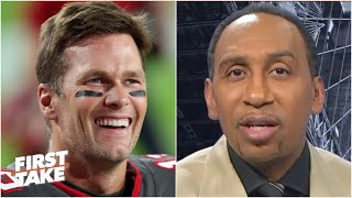 Stephen A. thanks Tom Brady for saying 'there is another way' than just the Patriot way   First Take