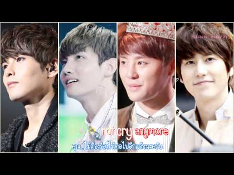 [Karaoke][Thaisub] TVXQ Junsu&Changmin Wish ft. Super Junior Ryeowook&Kyuhyun