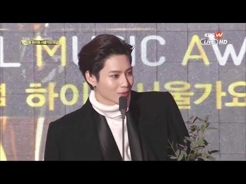 [1080p] 150122 Taemin cut + Popularity Award SEOUL MUSIC AWARDS