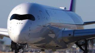 CLOSE UP TAKEOFFS | A330 A350 787 | Melbourne Airport Plane Spotting