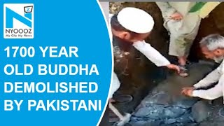 1700-year-old Buddha statue vandalised in Pakistan, video ..