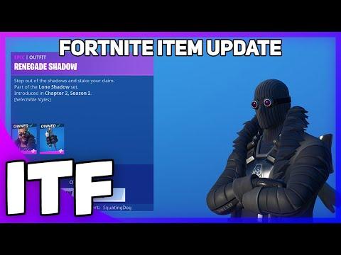 Fortnite Item Shop UPDATE *NEW* RENEGADE SHADOW SKIN + LOADING SCREEN! (Fortnite Battle Royale)