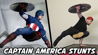 Stunts From Captain America: The Winter Soldier In Real Life
