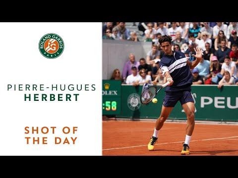 Shot of the Day #2 - Pierre-Hugues Herbert | Roland-Garros 2019