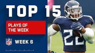 Top 15 Plays of Week 6 | 2020 NFL Highlights