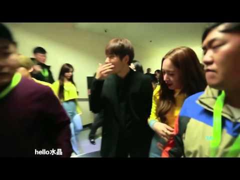 L & Krystal (Myungstal) Moment at IQIYI All Star Carnival 2016