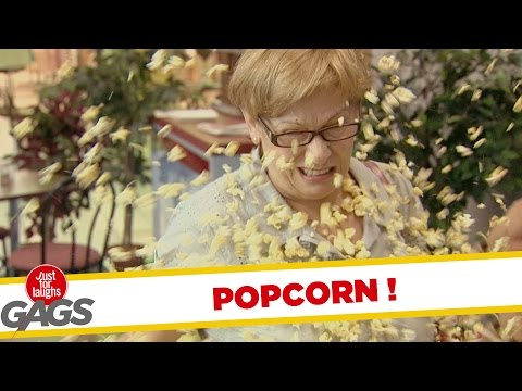 Popcorn Pranks! – Best of Just For Laughs Gags