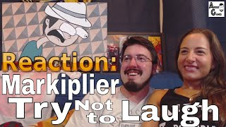 Markiplier ANIMATED Try Not To Laugh Challenge: Reaction #AirierReacts
