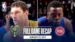 Full Game Recap: Bucks vs Pistons   Balanced Attack Leads MIL