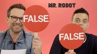 Hacking Facts with Rami Malek & Christian Slater// Presented by BuzzFeed & USA's Mr. Robot