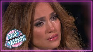 /most emotional auditions everthat made judges cry top talents
