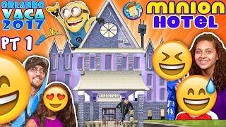 MINIONS HOTEL TOUR! Coolest Room Ever!! Savage Dad @ Universal Studios Resort (FUNnel Summer FL #1)