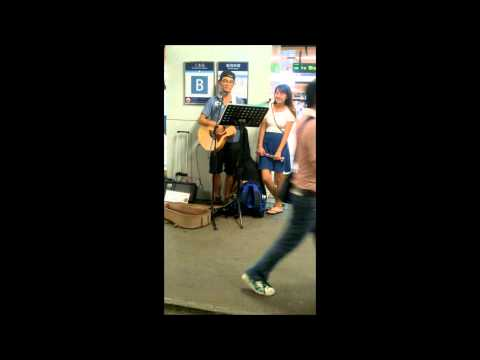 改造人 - 謝霆鋒(cover by AFung during busking in 5/8/2014)