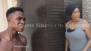 SHOWBOY LOCKS MADAM KALSOUME OUT OF HOUSE😂😂😂(Kalsoume Sinare TV)